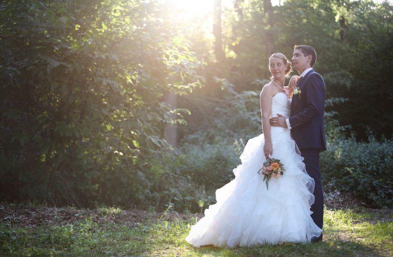 Mariage romantique à Concise et Vaumarcus