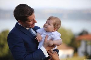 le marié et son fils