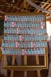 tableau table mariage