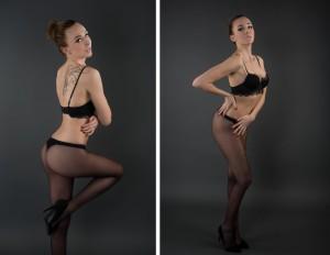 posing sexy